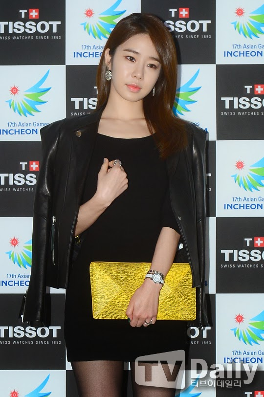 Yoo In Na Beauty in Black TISSOT 17th Asian Games 2014