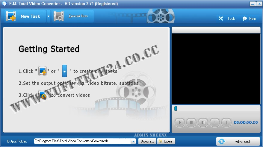 total video converter 3.71 hd for  + serial key