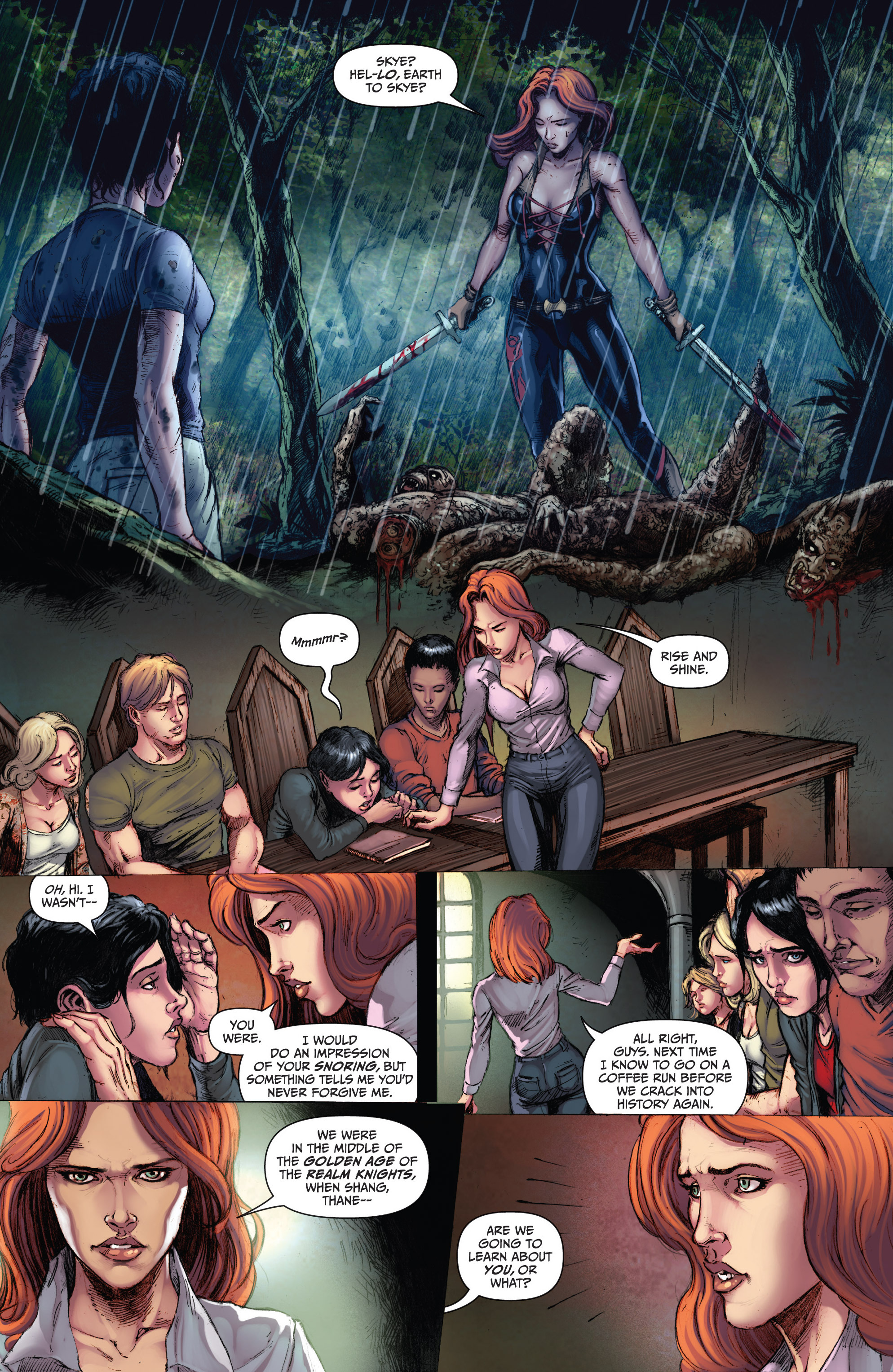 Grimm Fairy Tales (2005) Issue #103 #106 - English 5