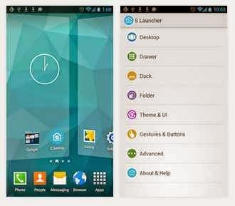 Android app launcher