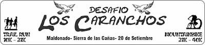 Desafío Los Caranchos (Trail run o MTB - Sierra de las cañas, Maldonado, 20/sep/2015)
