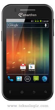 Android CDMA Smartfren Andro Max Smartphone berkelas harga murah - www.teknologiz.com