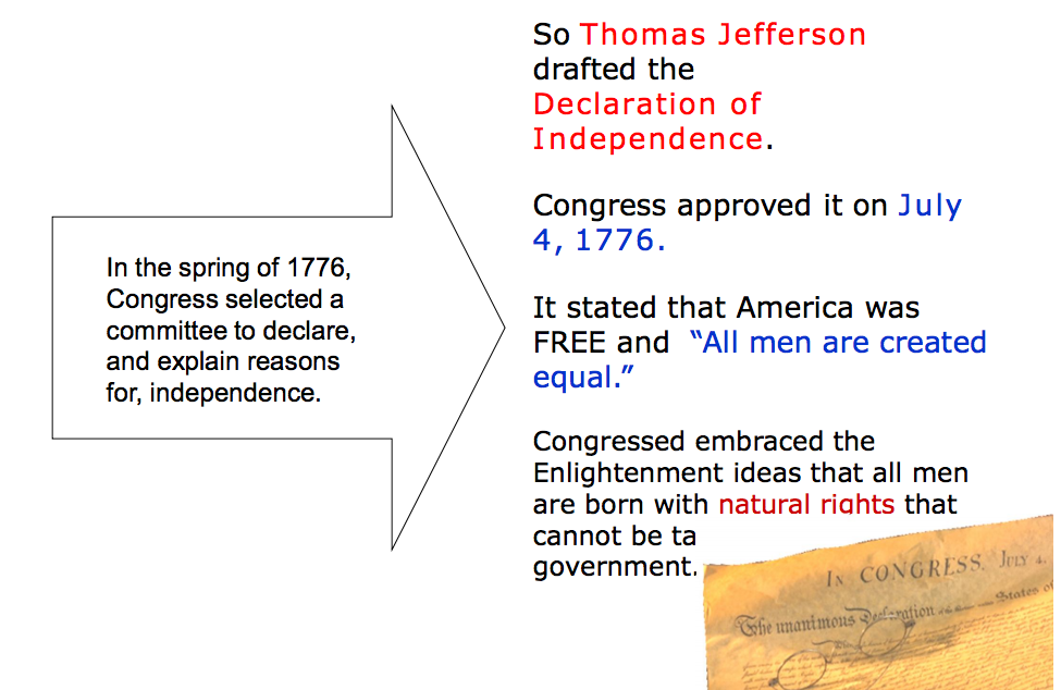 common sense vs declaration of independence Thomas paine published common sense in january 1776 support of the patriot   the declaration of independence months later, and common sense is believed   in britain as in france, with this difference, that instead of proceeding directly.