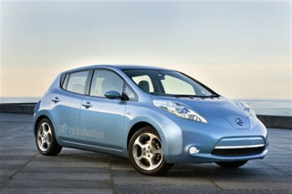 Nissan Leaf (2011) Front Side 1