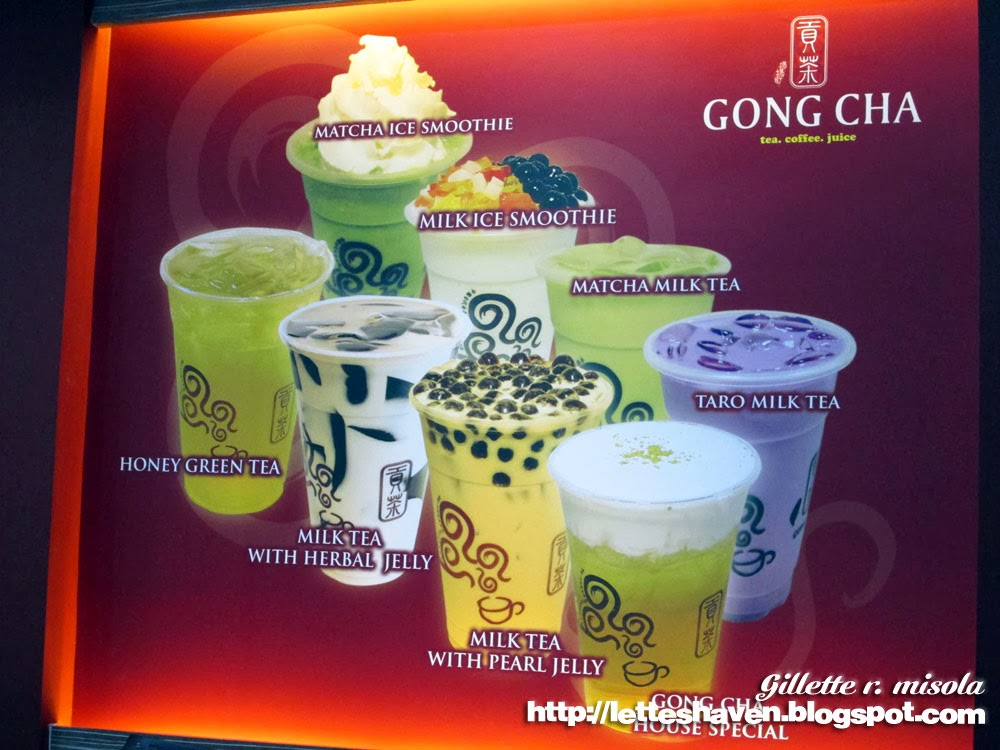Gong Cha Milk Tea Philippines