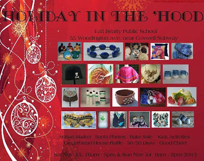 holiday in the hood, art, craft, fair