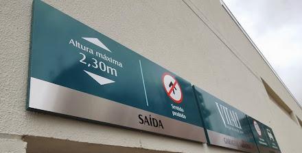 placas de sinalização para garagem residencial são José dos campos-são paulo