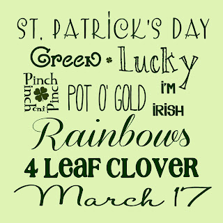 free St. Patrick's Day inspired Printable