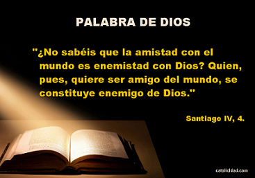 ¿AMISTAD CON EL MUNDO O CON DIOS? ¡ELIGE!