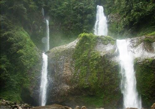 Air Terjun Curug Sembilan Salah Satu Objek Wisata Alam di Bengkulu