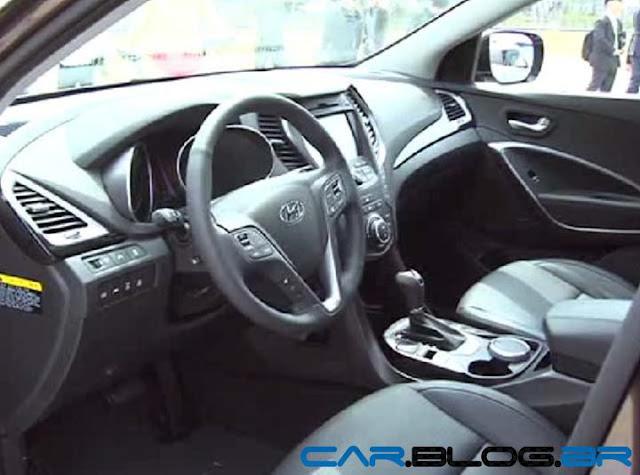 Hyundai Santa Fé 2013 - painel