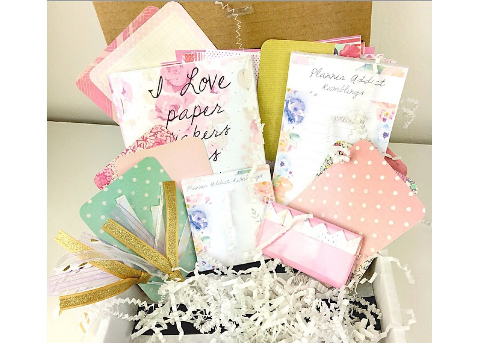 Sign up for the Planner Addict Box!
