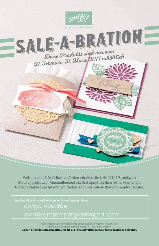 Sale-a-Bration Flyer II