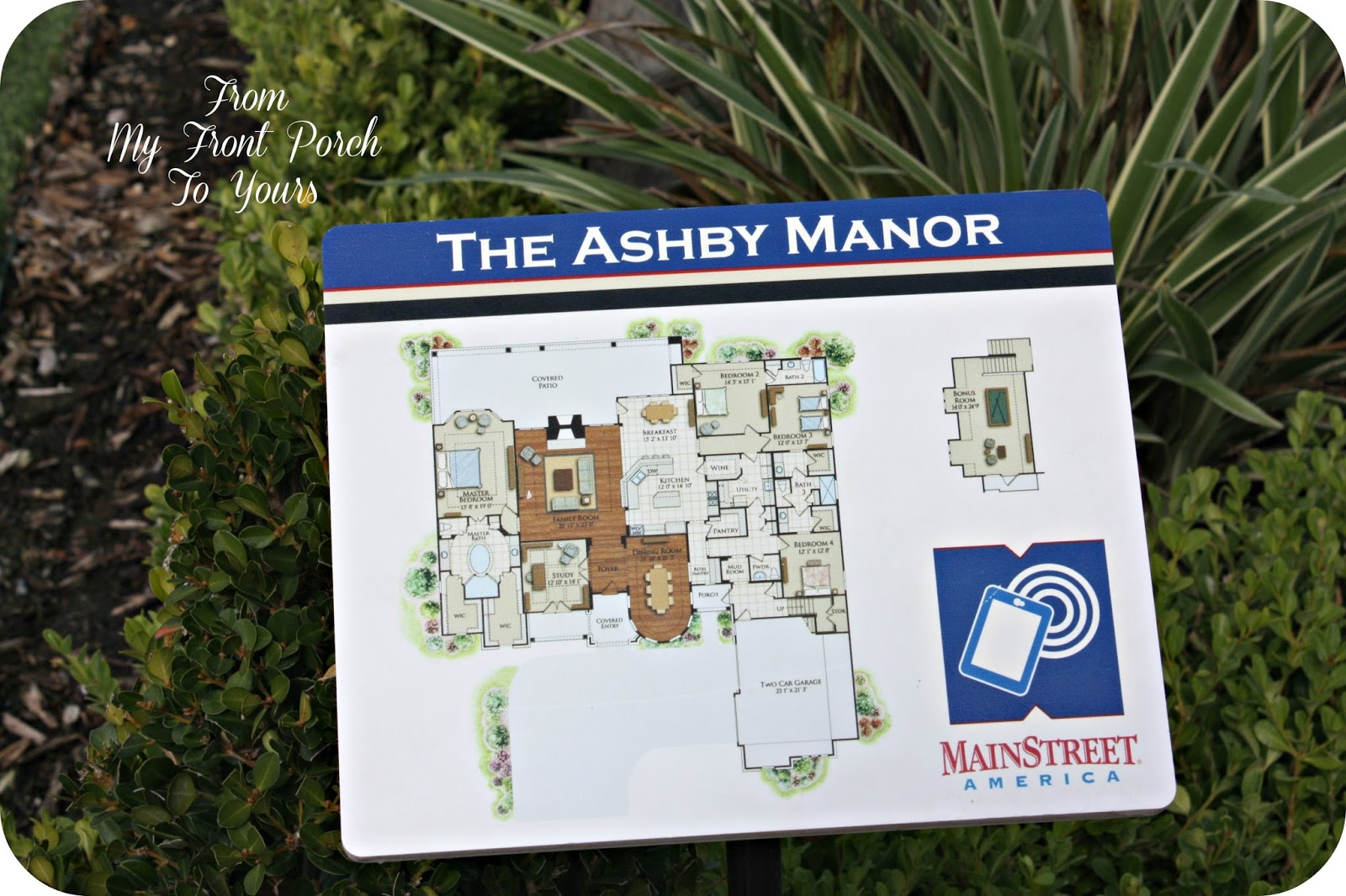 From my front porch to yours a home design amusement park for Ashby house plan