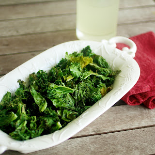 kale Crunchy Roasted Kale Chips