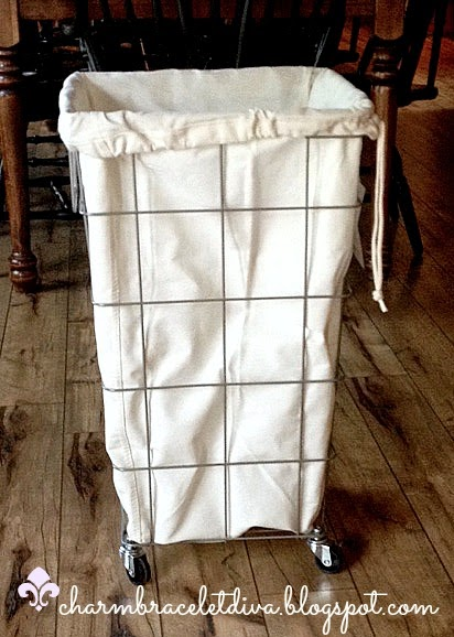 Our hopeful home french wire laundry hamper for less the french wire laundry hamper solutioingenieria Choice Image
