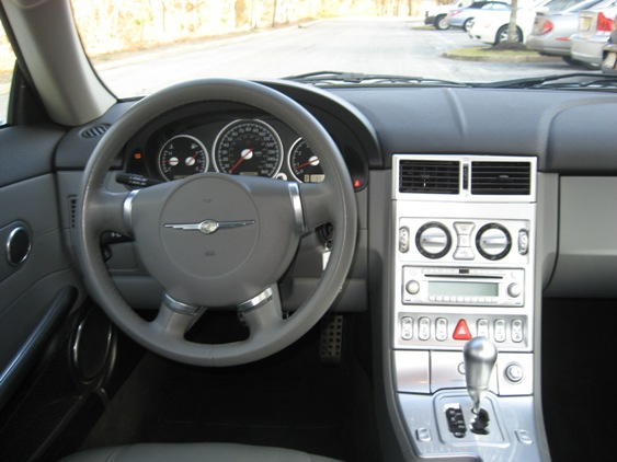 Pumpkin fine cars and exotics 2004 chrysler crossfire coupe - 2004 chrysler crossfire interior ...