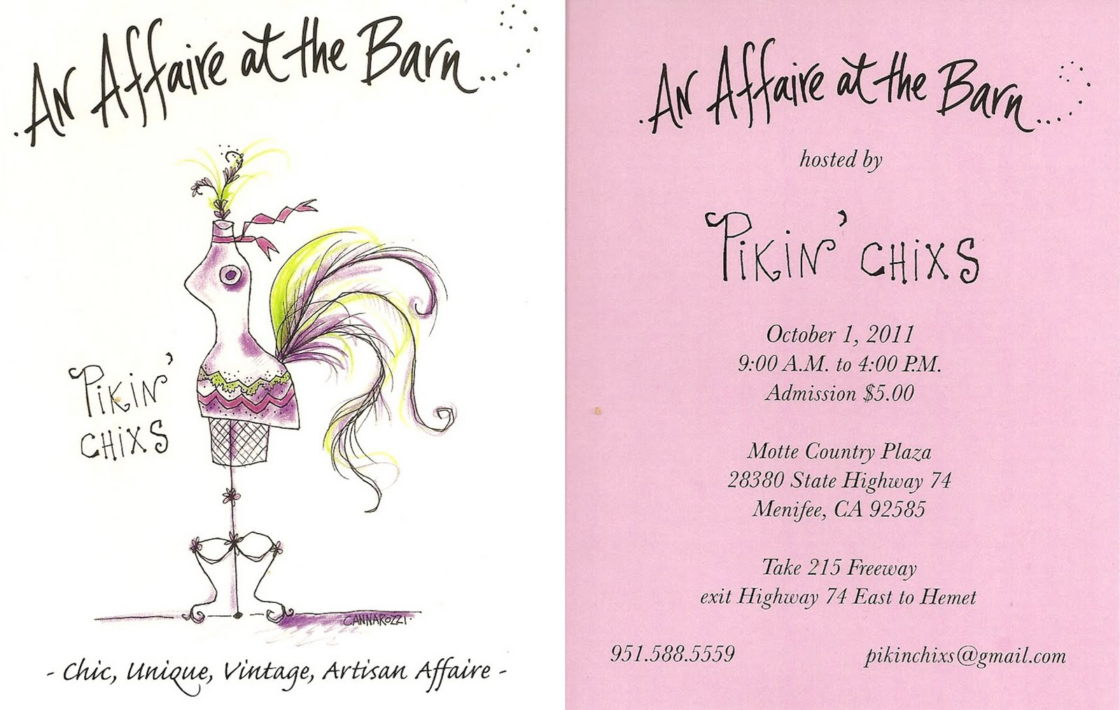 Pikin Chixs Antique Craft Fair