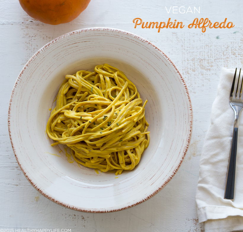 Vegan Pumpkin Alfredo Sauce