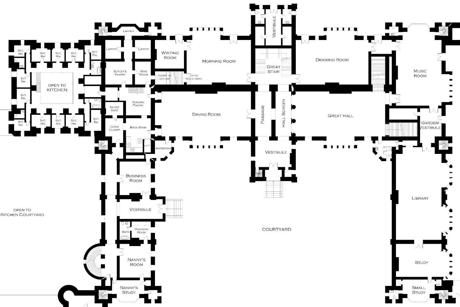 Lord Foxbridge in Progress Floor Plans Castle