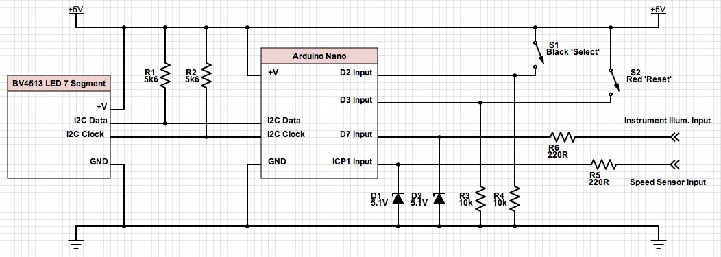 digital speedo sensor - electrics