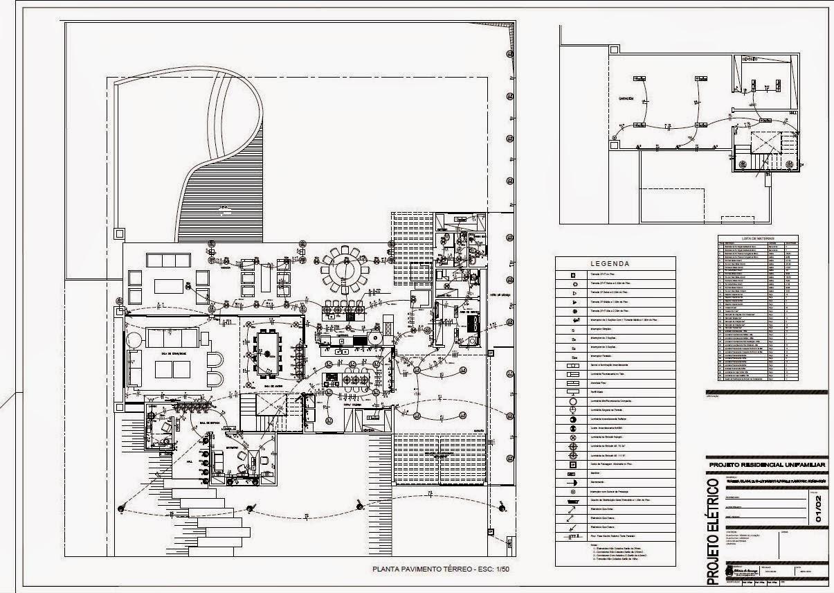 Projetos & Desenhos: Projeto Elétrico e Hidro Sanitário em dwg. #6D635E 1205 856