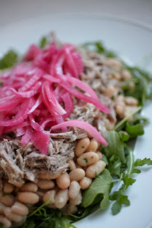 tonno del chianti with cannellini bean salad