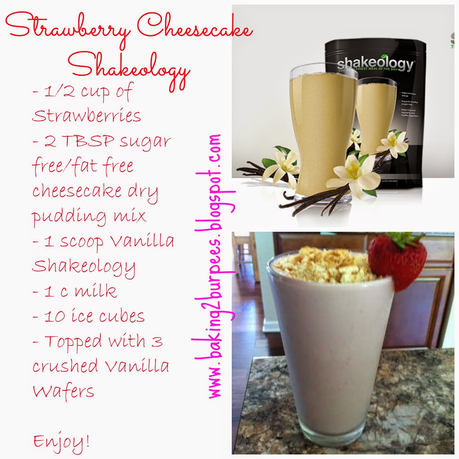 Erin Traill, Strawberry, Cheesecake, Shakeology, Healthy, fit mom, fit family, transformation, weight loss succes story, weight loss, tips, weight watchers