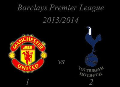 Manchester United vs Tottenham Hotspur Result January 2014