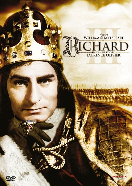 DVD cover of Richard III movieloversreviews.blogspot.com
