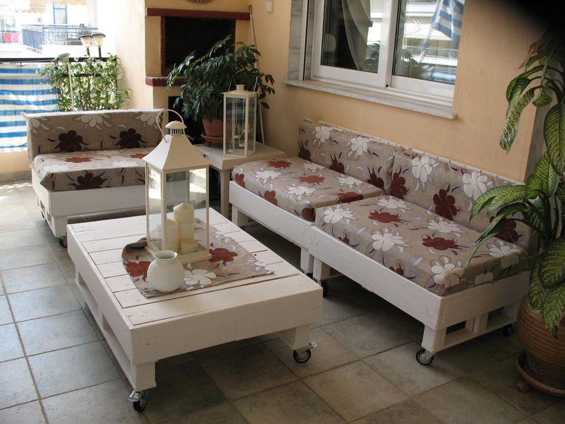 Proceso constructivo de sof exterior - Sofas con palets ...