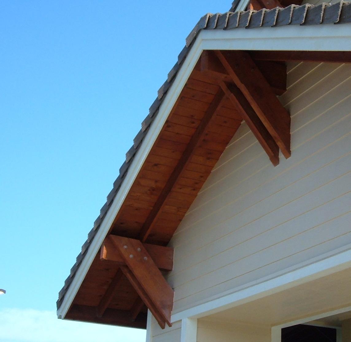 Jerold l dougal architect soffit design for Osb t g