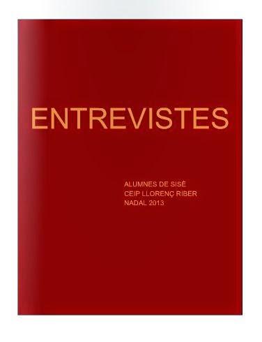 ENTREVISTES. 2013/2014