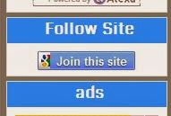 Cara Membuat Tombol Join This Site Tanpa Foto Di Blog