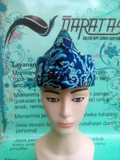 Iket Batik Mega Mendung