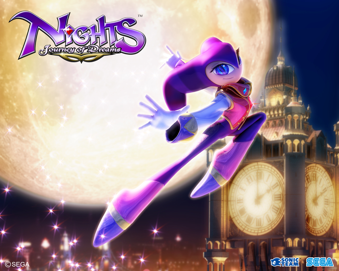 nights  journey of dreams wallpapers - Wallpapers « NiGHTS into Dreams