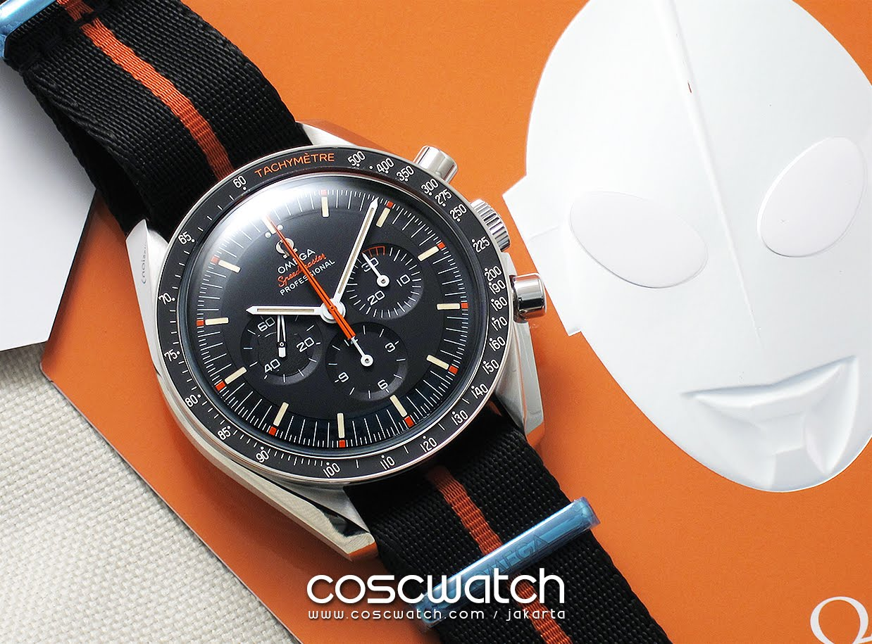 Omega Speedy Tuesday 'ULTRAMAN'