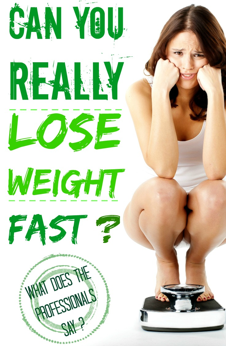 Need To Lose Weight Very Fast