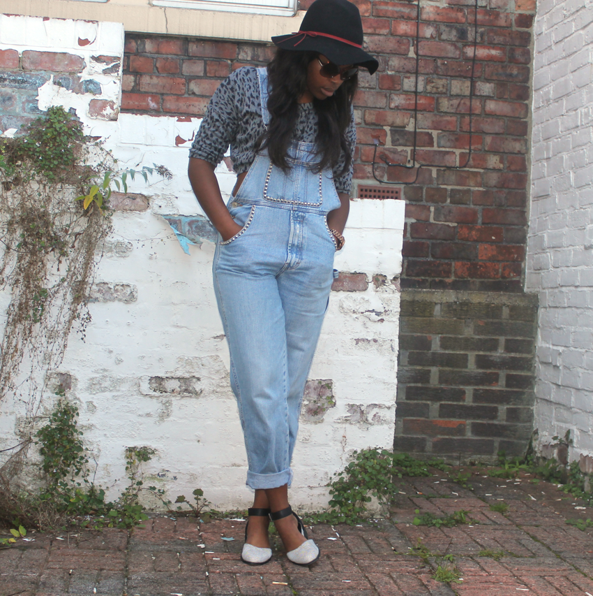 Vintage Dungarees and Floppy Hats