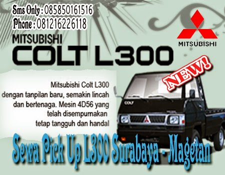 Sewa Pick Up L300 Surabaya - Magetan