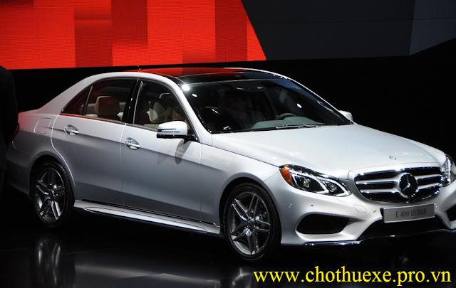 Cho thuê xe 4 chỗ Mercedes Benz E400 đẳng cấp