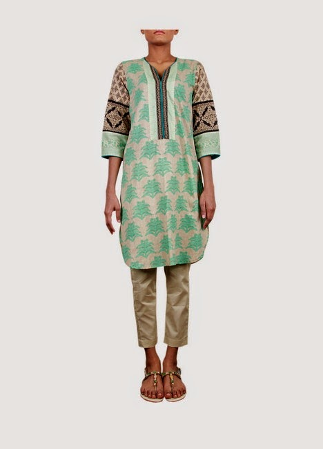 Sana Safinaz Printed Lawn for Eid 2014