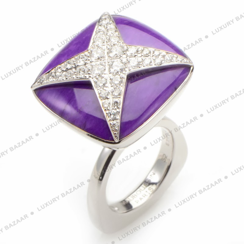 find an inexpensive purple engagement rings ring