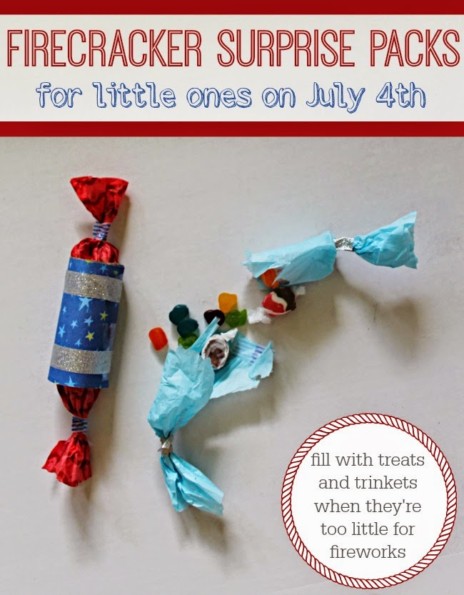 4th of july firecracker party popper activity for little kids this summer