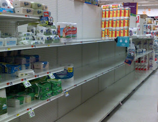 The 100 items that disappear first in an emergency. Be sure to stock up!