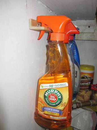 Spray Bottle Caddy