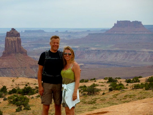 Us in Canyonlands NP