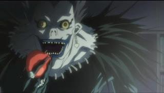 los shinigamis son los que deciden el momento de la muerte de las personas.