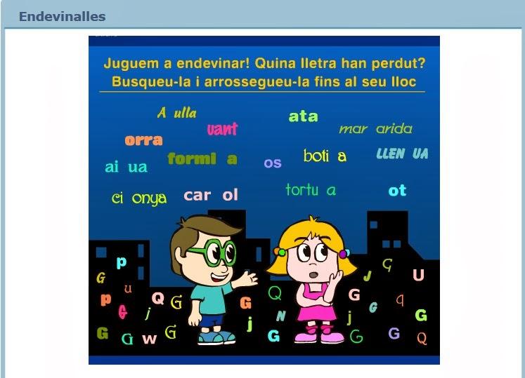 http://www.edu365.cat/primaria/muds/catala/endevinalles/index.htm
