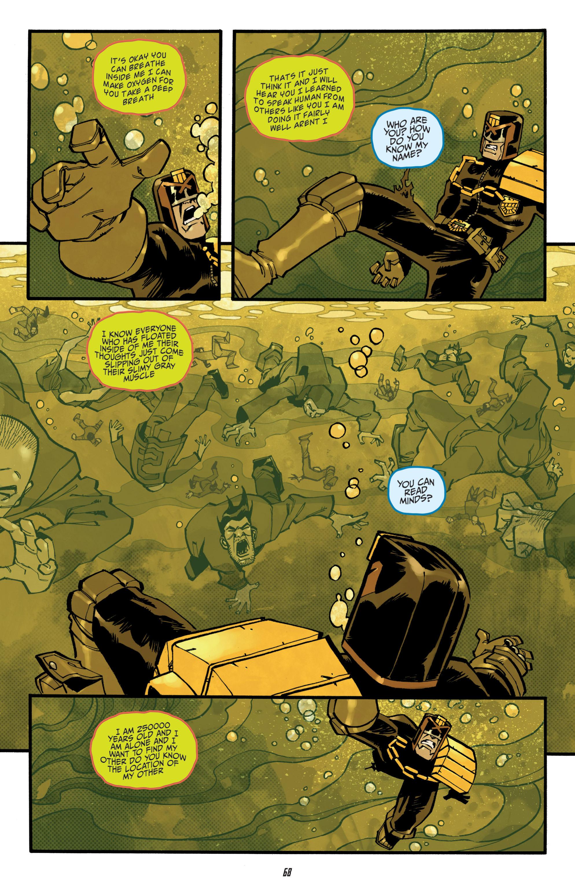 Read online Judge Dredd (2012) comic -  Issue # _TPB 3 - 68